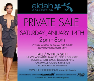 Aidah Collection - Private Fashion & Fine Art Sale