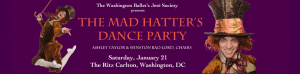 11th Annual Jete Society's The Mad Hatter's Dance Party