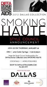 DIFFA/Dallas Style Council Announcement Party 2012