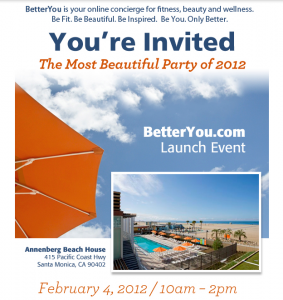 BetterYou Launch Event in Santa Monica