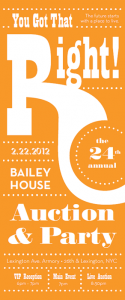 The 24th Annual Bailey House Auction & Party