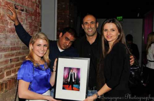 Courtney Jane Rosellini, Amit Anand, Steve Gerber and Sip with Socialites' Jana Sedlakova