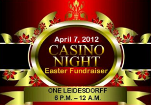 Casino Night Easter Fundraiser in San Francisco