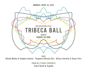 New York Academy of Arts 2012 Tribeca Ball