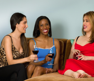 Sip With Socialites' Uplifting Nighties Photo Shoot