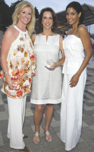Kim Moody, Alicia Smith and Ursaline Hamilton