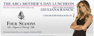 ABCs Mother's Day Luncheon in Beverly Hills