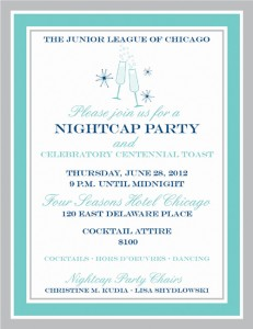 Nightcap Junior League Of Chicago