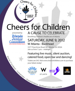 Cheers for Children... A Cause To Celebrate