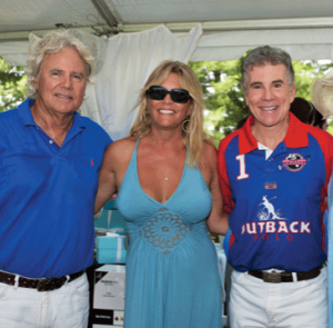Beau and Dea Van Metre with  John Walsh