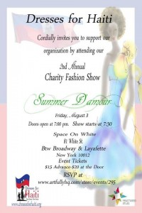 Dresses for Haiti Second Annual Charity Fashion Show