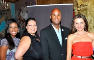 Michele Hudson, Event Chair Camelia C. Mazard, D.C. Councilmember Michael Brown and Jana Sedlakova