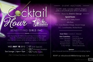 Cocktail Hour with Sip With Socialites Benefitting Girls Inc.