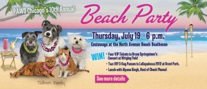 PAWS Chicago's 10th annual Beach Party