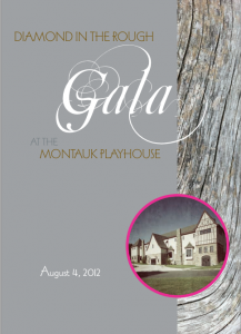 Montauk Playhouse Diamond in the Rough Gala 2012