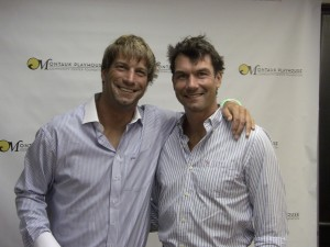 Brothers Charlie O'Connell and Jerry O'Connell