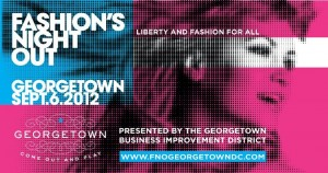 Best Georgetown Fashion's Night Out Events