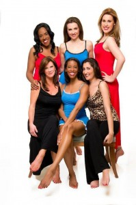 Uplifting Nighties photo shoot with the Ladies of Sip With Socialites