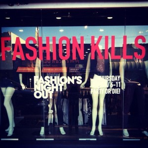 Kill City Fashion's Night Out