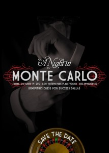 A Night in Monte Carlo Benefiting Dress For Success Dallas
