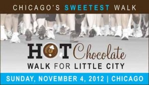 Chicago's Little City Chosen for Famous Hot Chocolate Walk