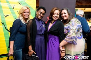 Victoria Michael, Queenie Plater and Cami Mazard pictured here with the St. Kitts and Nevis' Ambassador to the United States and ~Permanent Representative to the Organization of American States (OAS), Her Excellency Mrs. Jacinth Henry-Martin