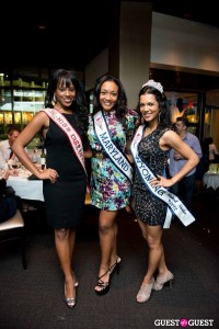 America's Miss District of Columbia 2012 Sarah Hillware, Miss Maryland United States 2012 Lindsey Marks and Miss Wyoming United States 2012 Mary David
