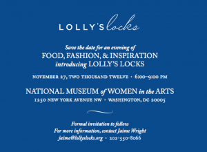 An Evening of Food, Fashion & Inspiration, Introducing Lolly's Locks