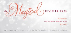"Christopher and Dana Reeve Foundation's ""A Magical Evening"" Gala 2012"