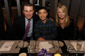Joe Boitano, Thakoon and Deborah Slack