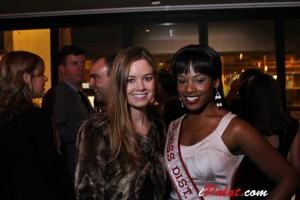 Guest of a Guest DC editor Sophie Pyle and America's Miss District of Columbia 2012 Sarah Hillware