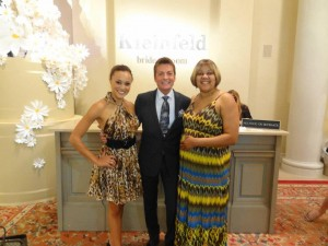 Ashley Boalch pictured here with the man of the hour, Randy Fenoli and her lovely mother Sheila Matthew.