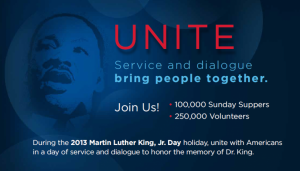 Join Erin Lyons on Martin Luther King, JR. for a Day of Service