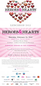 San Francisco's Heroes & Hearts Luncheon 2013