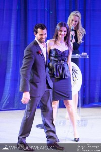 Actor Scott Elrod and Jana Sedlakova