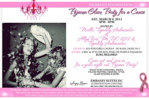 Tigerlily Foundation's Pajama Glam Party