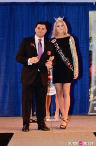 Bachelor Matt Webb with Miss DC 2012 Allyn Rose