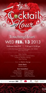 """""""The Love of Giving"""" Sip With Socialites' February Cocktail Hour"""