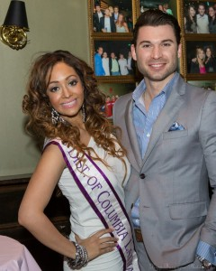 Miss District of Columbia Latina 2013 Gilda Villela and Mathew L. Herbert