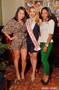 America's Miss District of Columbia 2013 Antoinette Cordova with friends