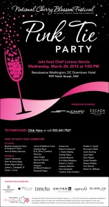 Join Camelia Mazard at the 2013 Pink Tie Party