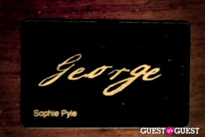 Guest of a Guest's DC editor Sophie Pyle's personal members card to George