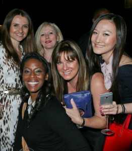L to R: Jana Sedlakova, Michele Hudson, Tammy Britt, Jeana Keough and Rachel Wang Pang at The Observatory