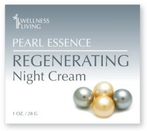 Wellness Living's - Pearl Essence Regenerating night cream