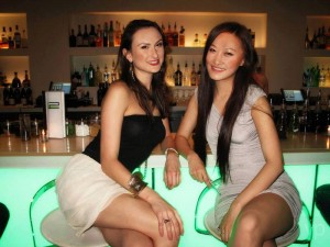 Masha Casey and Rachel Wang Pang
