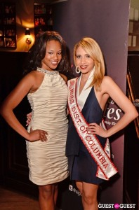 Girls Health Ed founder Sarah Hillware and Antoinette Cordova America's Miss DC 2013