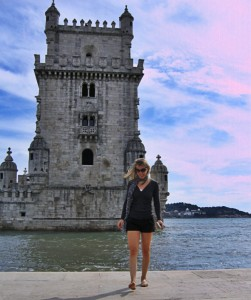 Erin Lyons in Lisbon Portugal
