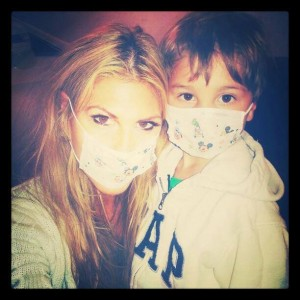 Lisa with her son Brody