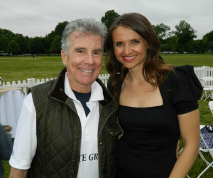 John Walsh of America's Most Wanted with our Jana Sedlakova
