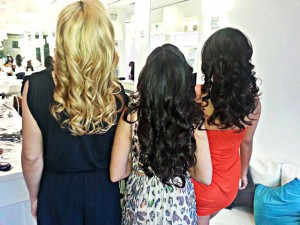 Beautiful hair at the BDry Blowout Bar
